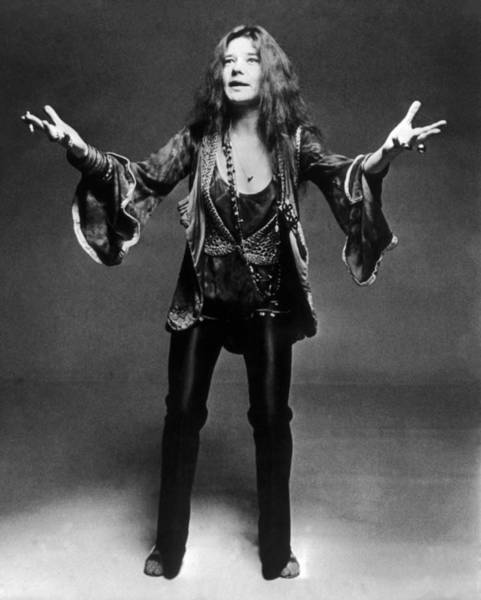Photograph - Janis Joplin 1966-1970 by Keystone-france