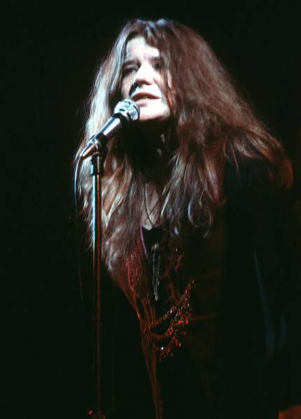 Janis Joplin Photograph - Janis Joplin At The Fillmore East by Michael Ochs Archives