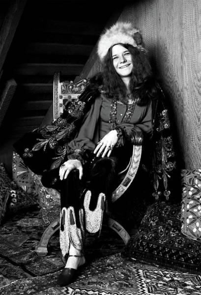 Photograph - Janis Joplin by Doc Braham
