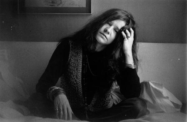 Uk Photograph - Janis Joplin by Evening Standard
