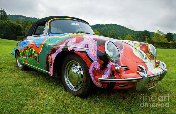 Janis Joplin Photograph - Janis Joplin's Porsche by Joseph Greco