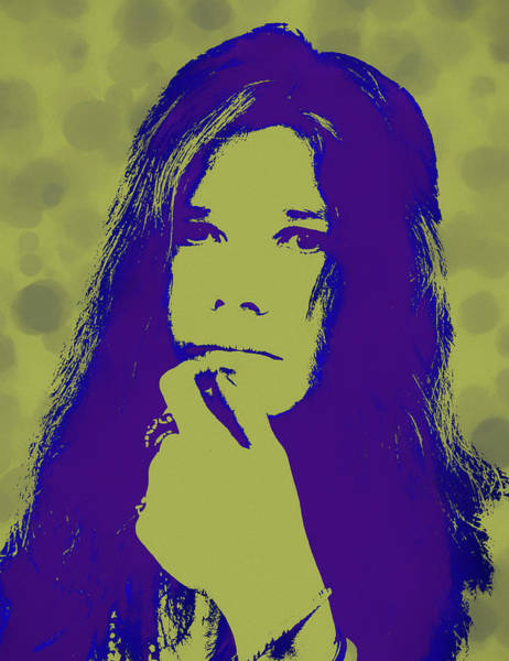 Wall Art - Painting - Janis Pop Icon by Dan Sproul