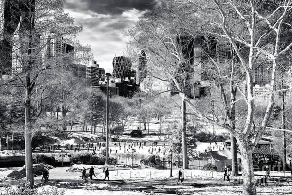 Wall Art - Photograph - January In Central Park New York City by John Rizzuto