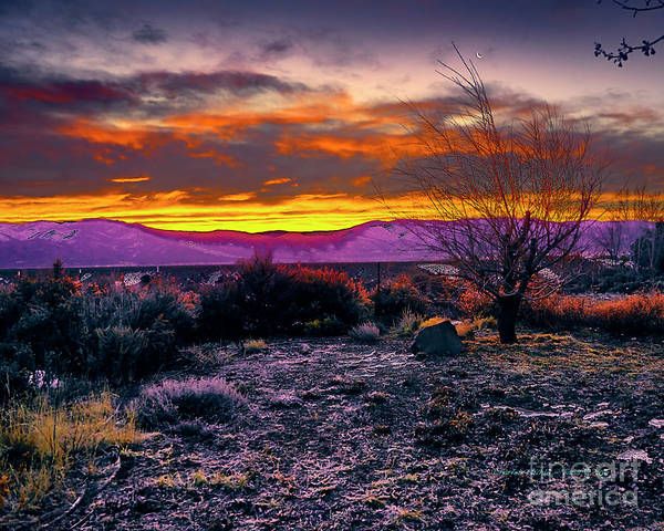 Photograph - January Sunrise by Charles Muhle