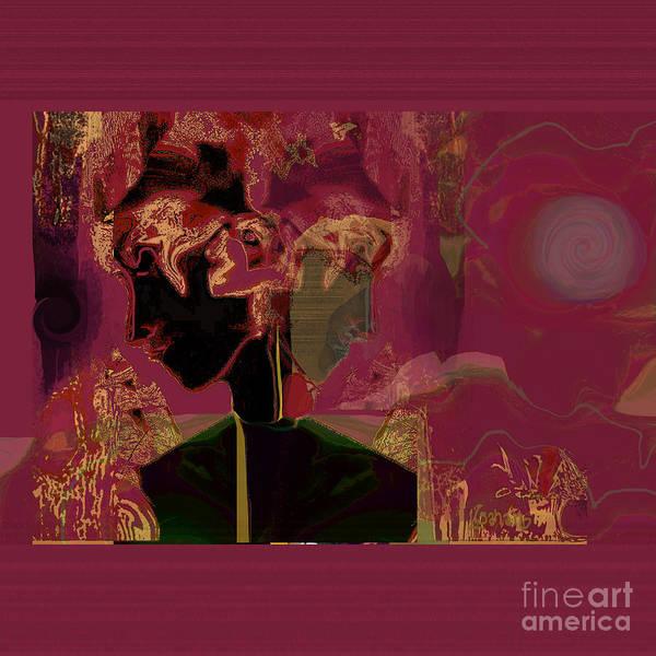 Wall Art - Mixed Media - Janus And Athena No. 2 by Zsanan Studio