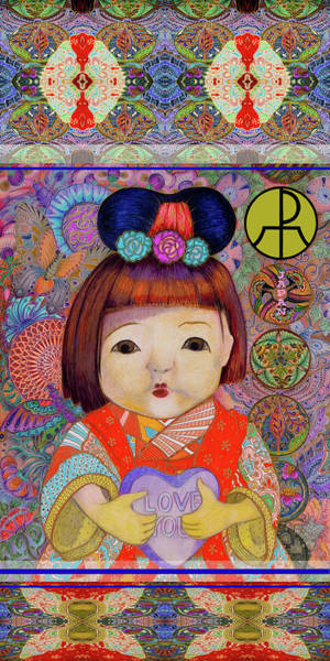 Mixed Media - Japan by Ellie Perla