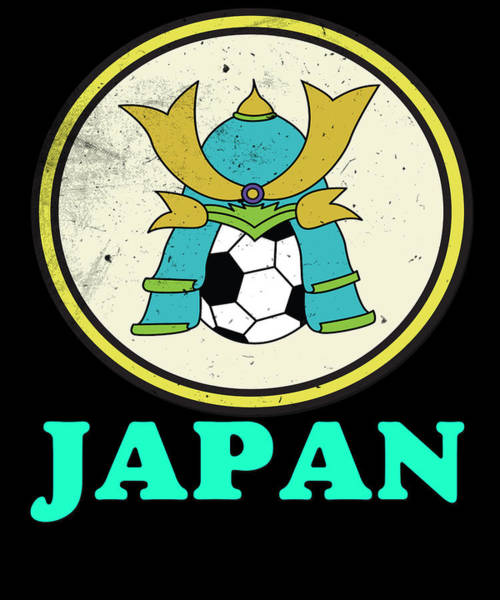 Moscow Mixed Media - Japan Football World Cup Soccer Championship World Champion Ball by Roland Andres