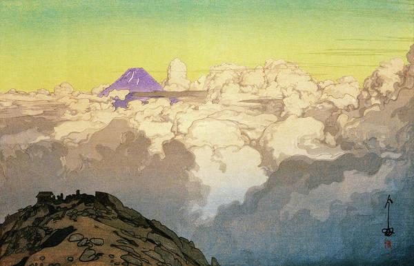 Wall Art - Painting - Japan Southern Alps Collection, Komagatake Summit - Digital Remastered Edition by Yoshida Hiroshi