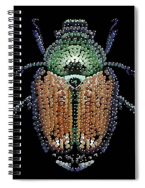 Digital Art - Japanese Beetle Cover by R  Allen Swezey