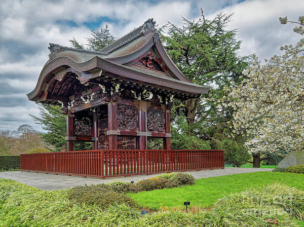 Photograph - Japanese Landscape, Kew Gardens by Leigh Kemp