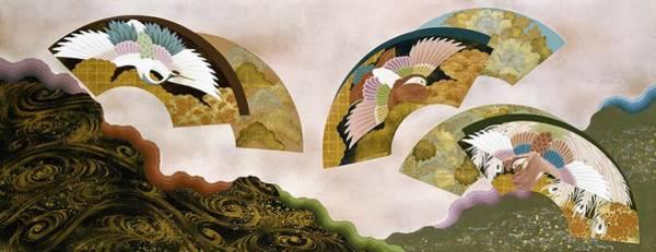 Wall Art - Painting - Japanese Modern Interior Art #166 by ArtMarketJapan