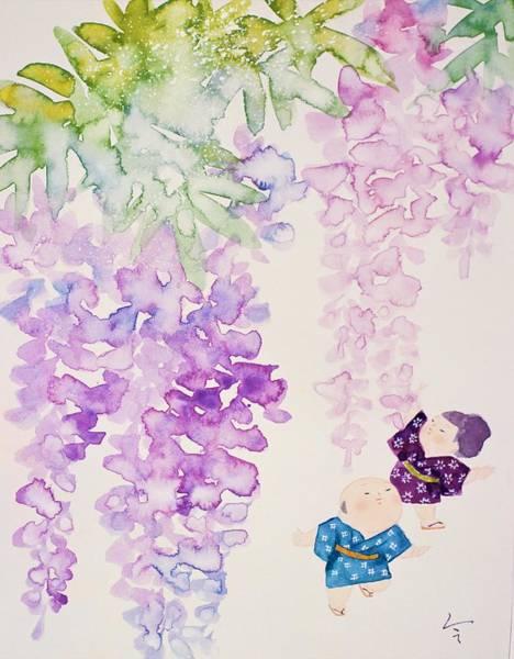 Japan Culture Wall Art - Painting - Japanese Modern Interior Art #25 by ArtMarketJapan