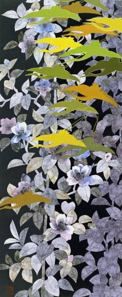 Japan Culture Wall Art - Painting - Japanese Modern Interior Art #37interior  by ArtMarketJapan