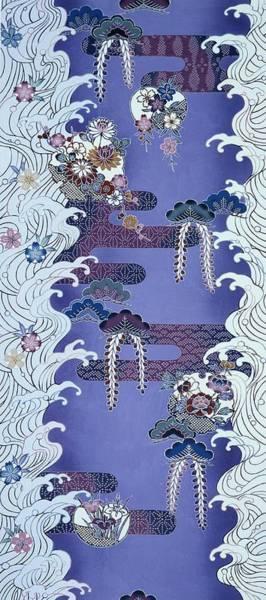 Water Plant Digital Art - Japanese Modern Interior Art #75 by ArtMarketJapan