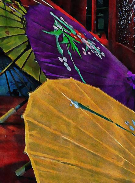 Photograph - Japanese Parasol Harmony by Dorothy Berry-Lound