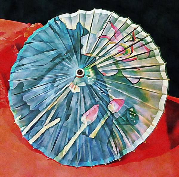 Photograph - Japanese Parasol Study 1 by Dorothy Berry-Lound