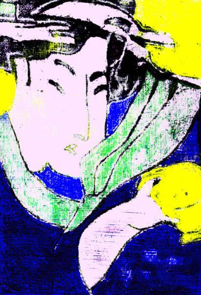 Digital Art - Japanese Pop Art Print 10b by Artist Dot