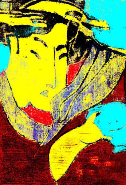 Digital Art - Japanese Pop Art Print 10c by Artist Dot