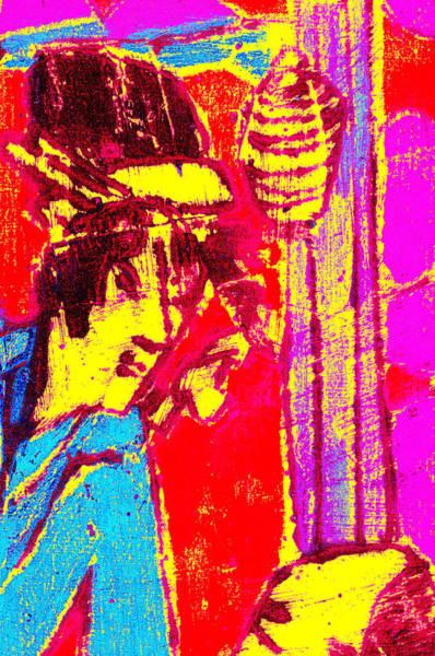 Digital Art - Japanese Pop Art Print 11 by Artist Dot