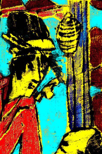 Digital Art - Japanese Pop Art Print 11c by Artist Dot