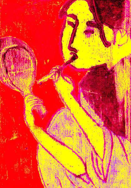 Digital Art - Japanese Pop Art Print 12 by Artist Dot