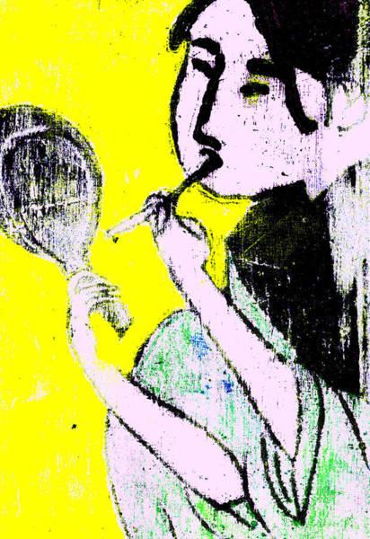 Digital Art - Japanese Pop Art Print 12b by Artist Dot