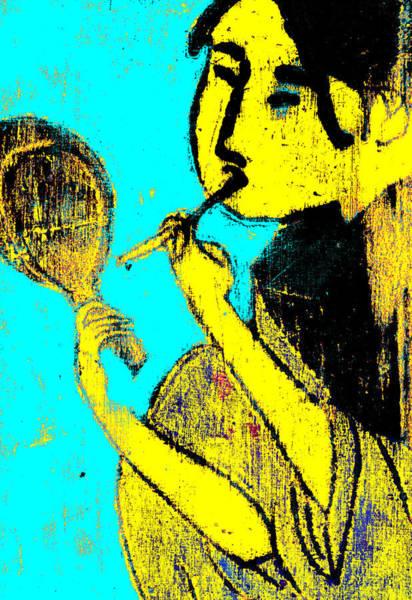 Digital Art - Japanese Pop Art Print 12c by Artist Dot