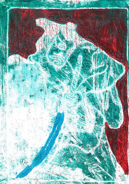 Relief - Japanese Pop Art Print 12r1 by Artist Dot
