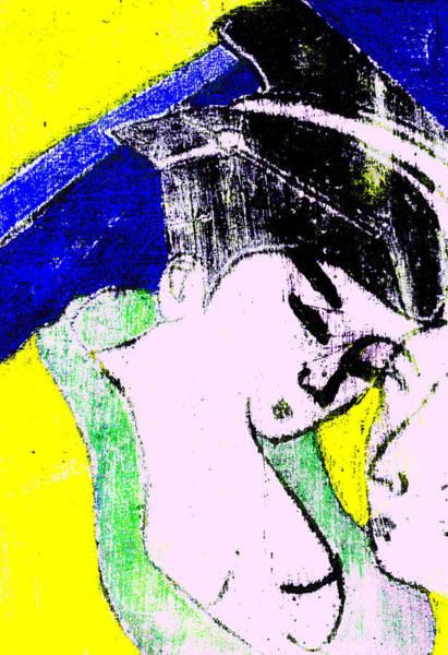 Digital Art - Japanese Pop Art Print 14b by Artist Dot