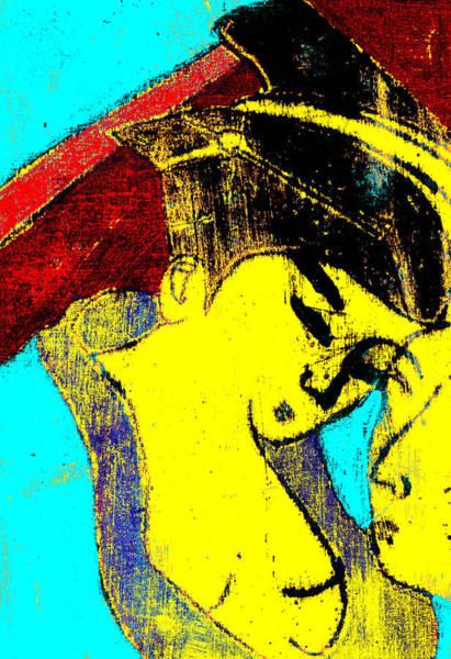 Digital Art - Japanese Pop Art Print 14c by Artist Dot