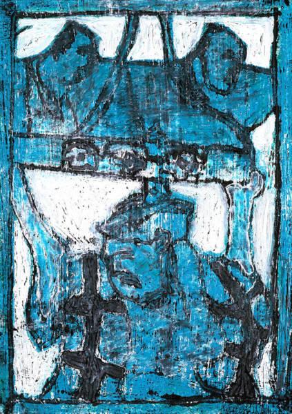 Relief - Japanese Pop Art Print 14r1 by Artist Dot