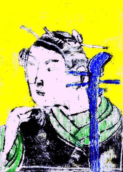 Digital Art - Japanese Pop Art Print 15b by Artist Dot