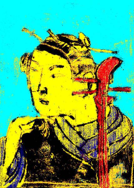Digital Art - Japanese Pop Art Print 15c by Artist Dot