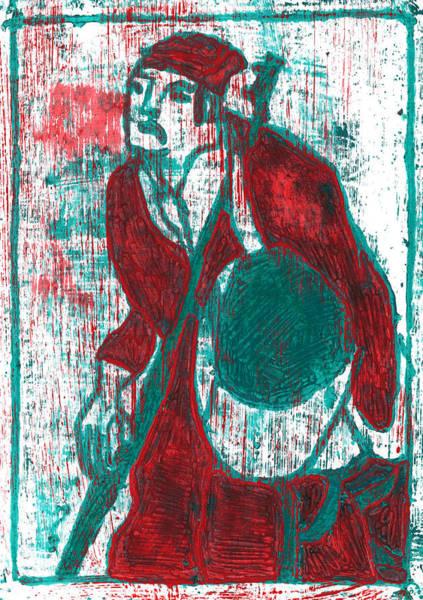 Relief - Japanese Pop Art Print 17f1 by Artist Dot