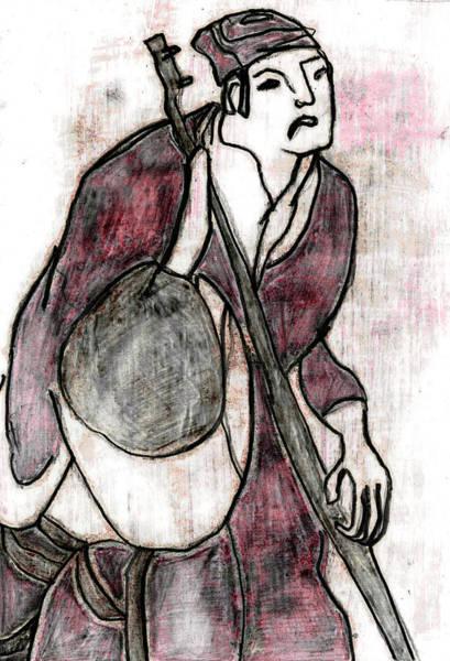 Drawing - Japanese Pop Art Print 17f3 by Artist Dot