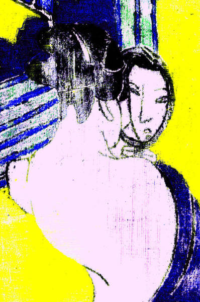 Digital Art - Japanese Pop Art Print 1b by Artist Dot