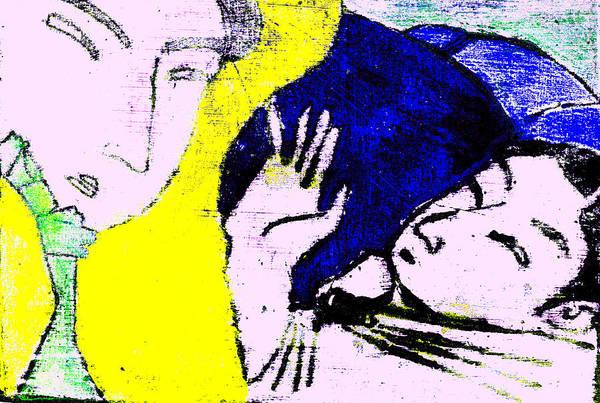 Digital Art - Japanese Pop Art Print 7b by Artist Dot