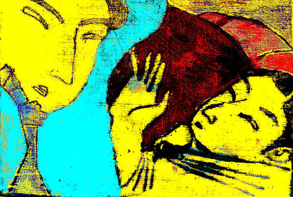 Digital Art - Japanese Pop Art Print 7c by Artist Dot