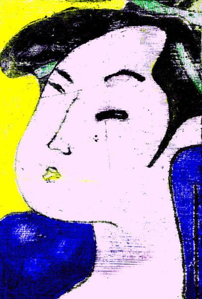 Digital Art - Japanese Pop Art Print 8b by Artist Dot