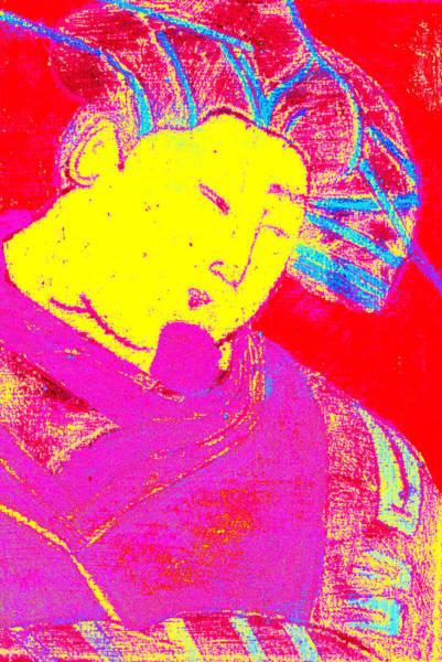 Digital Art - Japanese Pop Art Print 9 by Artist Dot