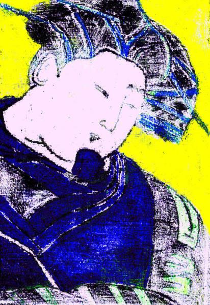 Digital Art - Japanese Pop Art Print 9b by Artist Dot