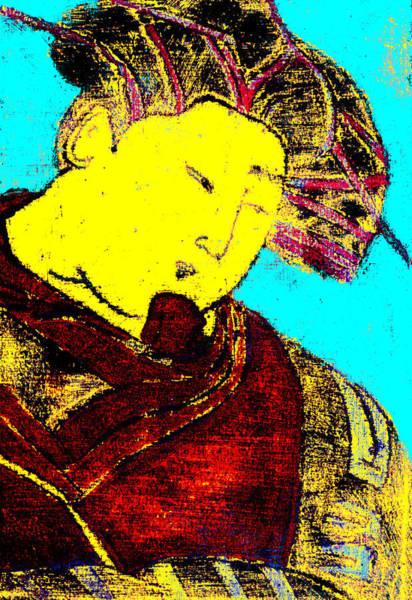 Digital Art - Japanese Pop Art Print 9c by Artist Dot