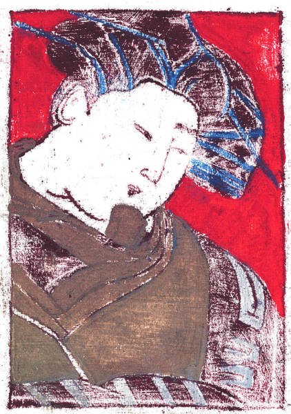 Painting - Japanese Print 1 by Artist Dot