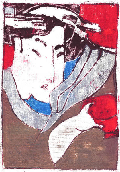 Painting - Japanese Print 3 by Artist Dot