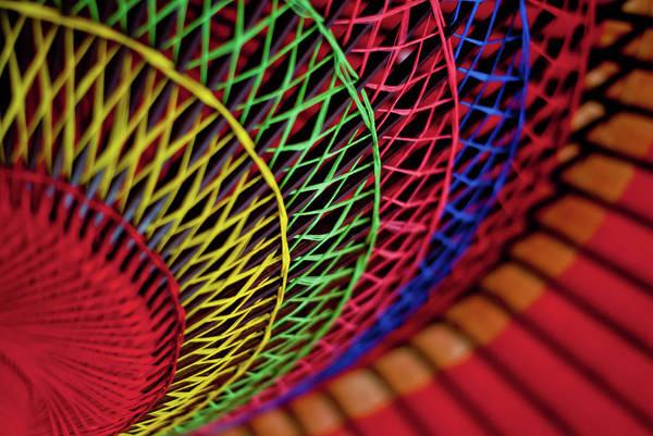 Full Frame Photograph - Japanese Umbrella by Photo By Sue Ann Simon