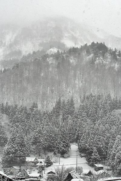 Wall Art - Photograph - Japanese Village In Winter by Niki Joukanen