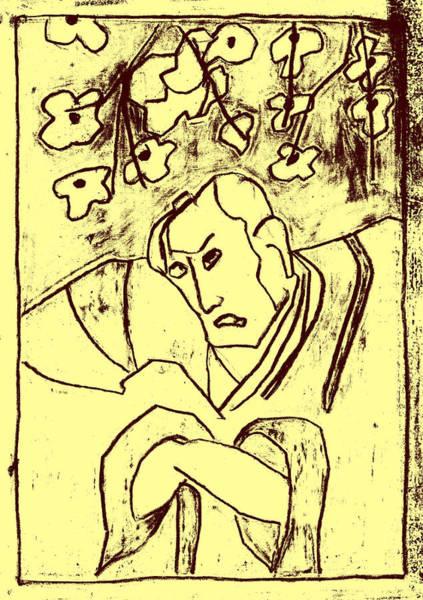 Mixed Media - Japanese Woodblock Pop Art Print 2r5 by Artist Dot