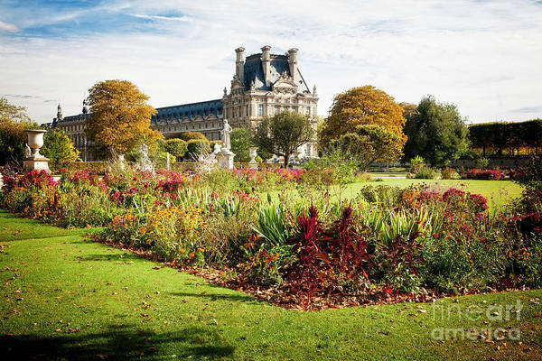 Photograph - Jardins Des Tuileries by Scott Kemper