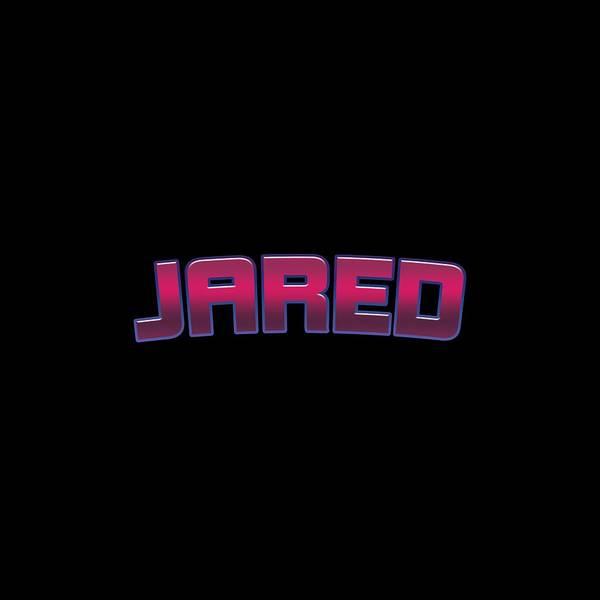 Jared Wall Art - Digital Art - Jared #jared by TintoDesigns
