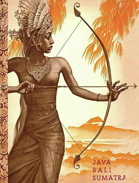 Wall Art - Digital Art - Java, Bali, Sumatra by Long Shot